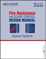 Fire Resistance and Sound Control Design Manual PLUS VERSION - GA-600-2018-PLUS